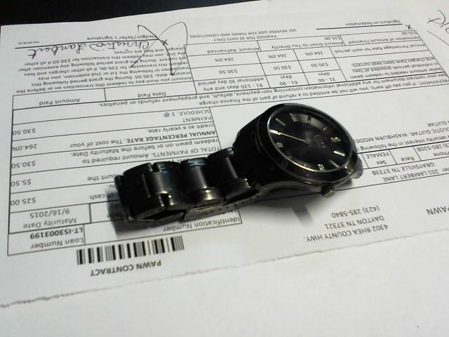 ELGIN Lady's Wristwatch DELUXE ANTIQUE WATCH 10KT GF ROSE