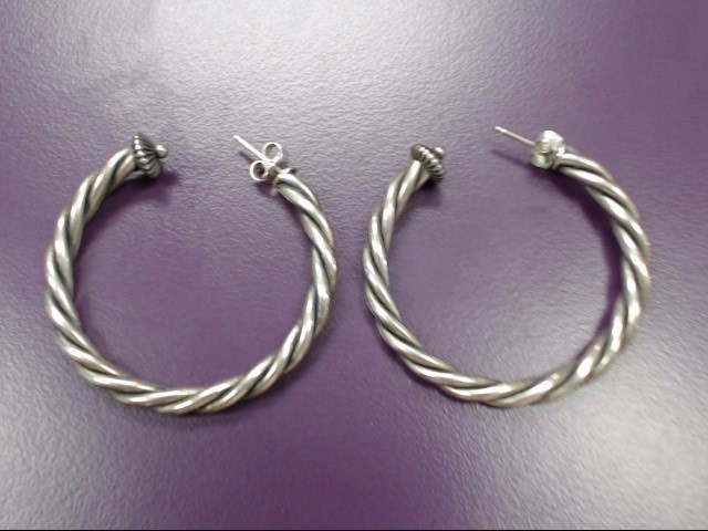 Silver Earrings 925 Silver 7.4g