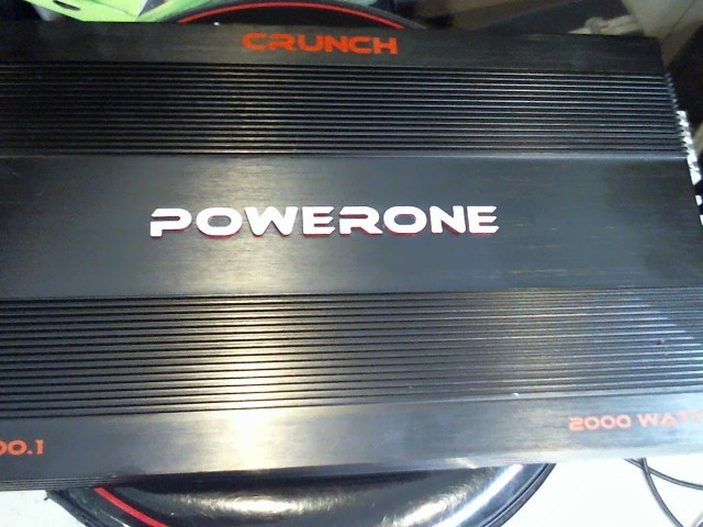 CRUNCH AUDIO Car Amplifier POWERONE P1-2000.1