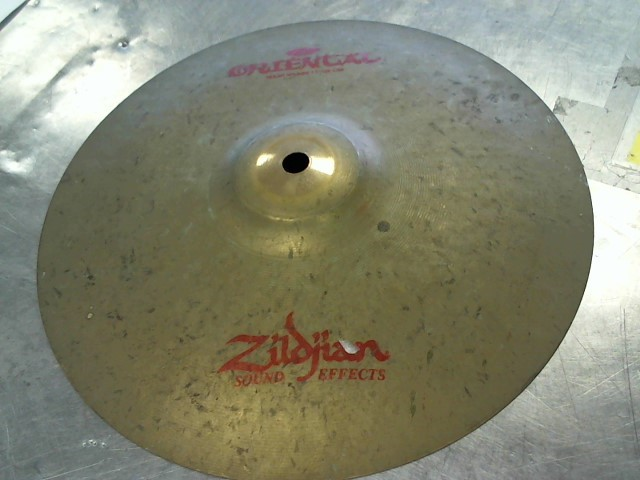 "ZILDJIAN Cymbal TRASH SPLASH 11"""
