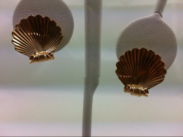 Gold Earrings 14K Yellow Gold 5.9g