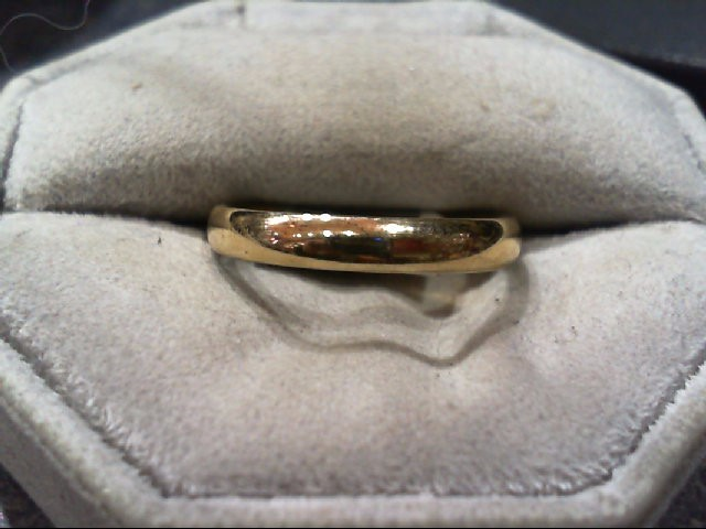 Gent's Gold Wedding Band 10K Yellow Gold 2.5g Size:10