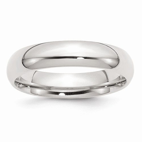 Lady's Silver Wedding Band 925 Silver 6.3g Size:8.5