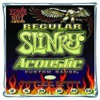 ERNIE BALL Regular Slinky Acoustic Guitar Strings 12ga Phosphor Bronze
