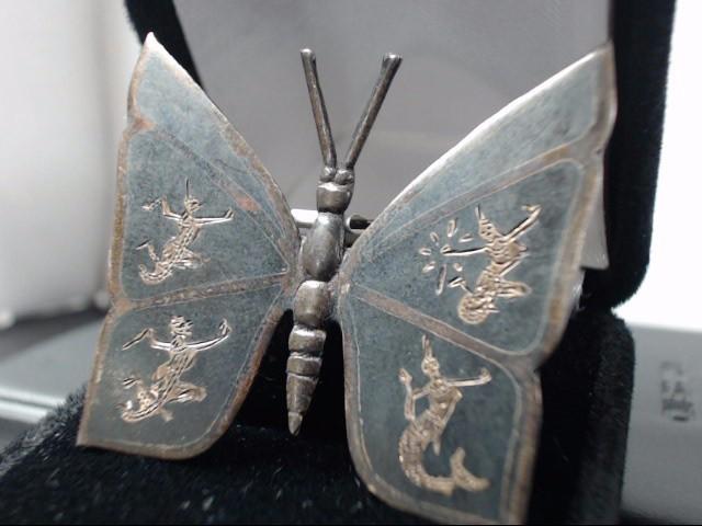 Silver Brooch 925 Silver 7.9g