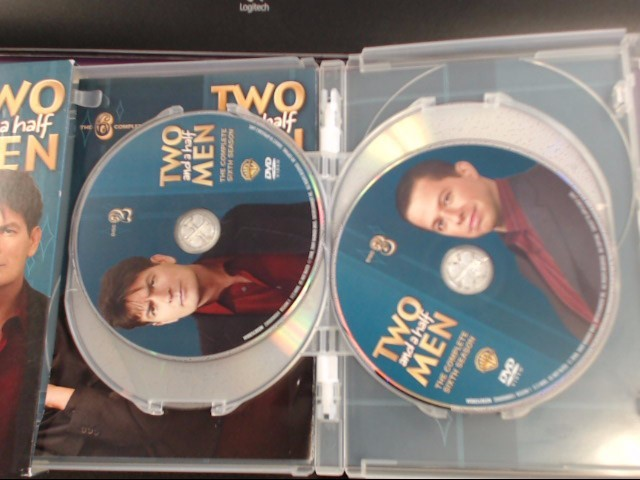 DVD BOX SET TWO AND A HALF MEN THE COMPLETE SIXTH SEASON