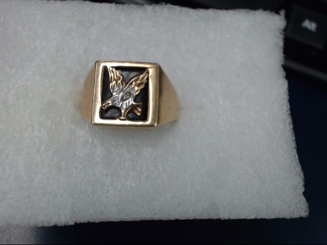 Gent's Gold Ring 10K Yellow Gold 3.2dwt