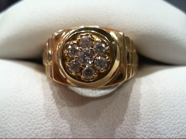 Gent's Gold Ring 14K Yellow Gold 5.7g