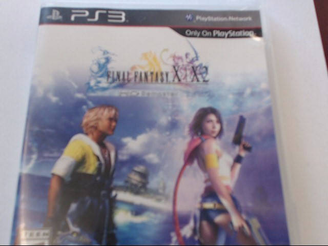 SONY PS3 FINAL FANTASY X/X2 HD REMASTER