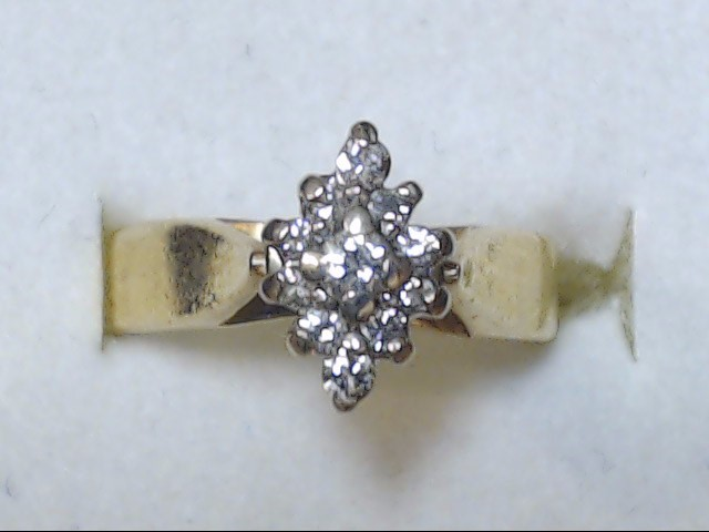 DIAMOND RING  14K  4.7G  S-6