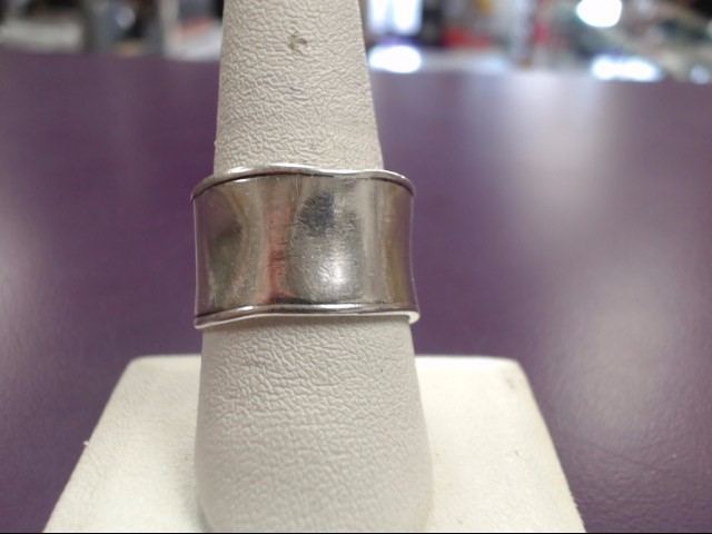 Lady's Silver Ring 925 Silver 8.8g Size:10