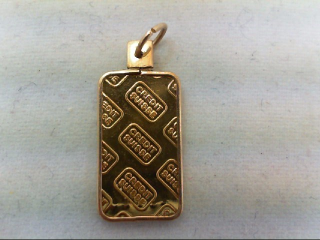 Gold Pendant 24K Yellow Gold 1.2g
