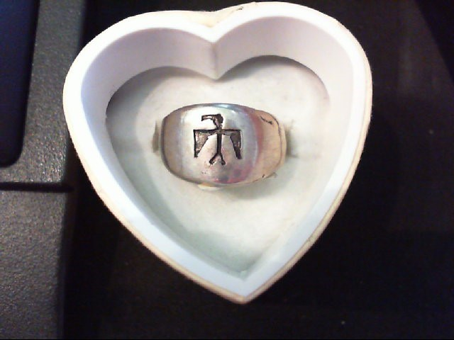 Lady's Silver Ring 925 Silver 5.3g