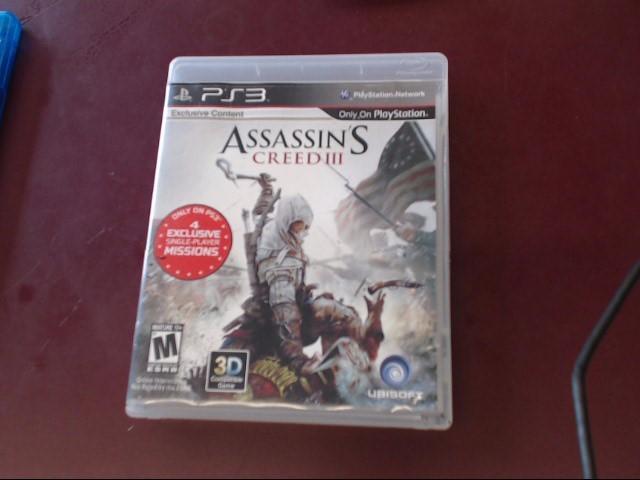 SONY PS3 ASSASSIN'S CREED III