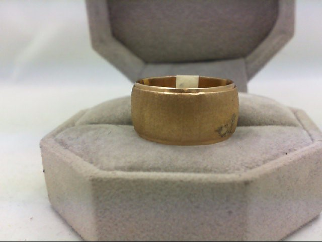 Lady's Gold Ring 14K Yellow Gold 9.2g Size:7