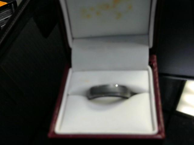 Gent's Ring Silver Tungsten 6.9dwt