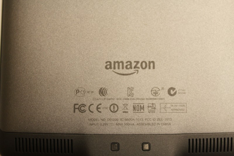 AMAZON D01200 KINDLE