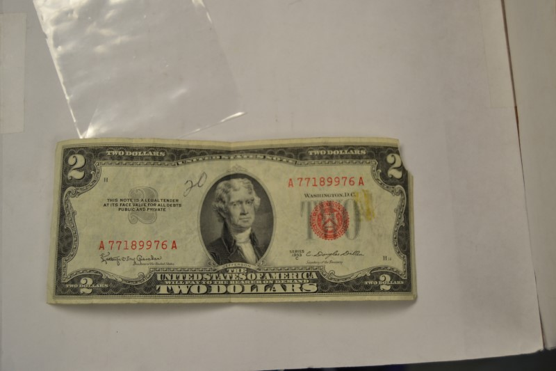 UNITED STATES Paper Money - World 1953 2$ RED SEAL