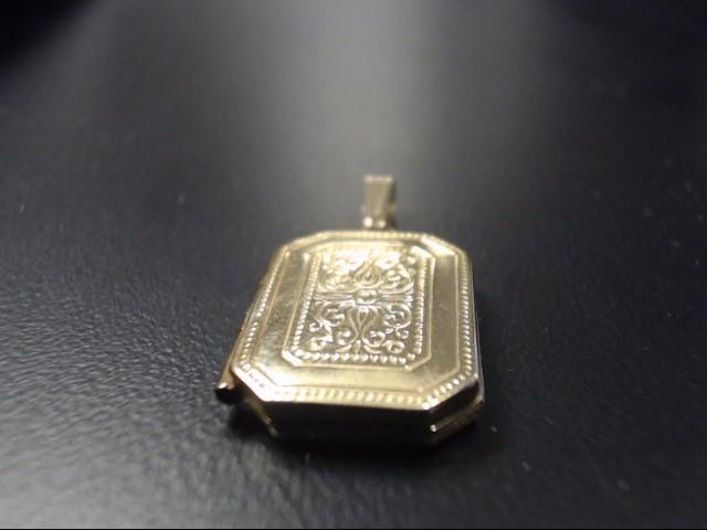 Gold Pendant 10K Yellow Gold 2.6g