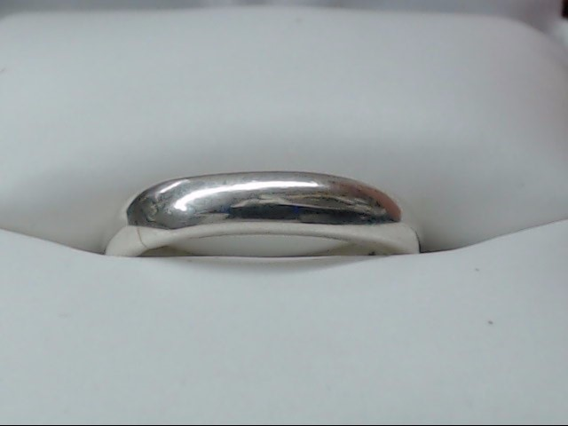 Lady's Silver Wedding Band 925 Silver 2.3g Size:5