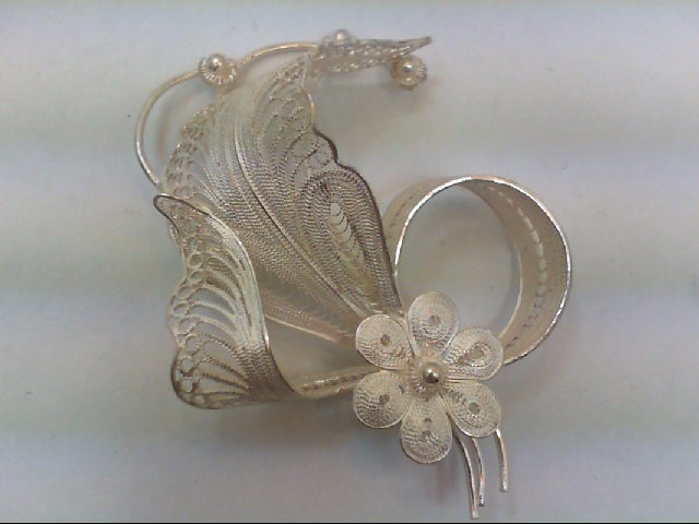 Silver Brooch 925 Silver 8.3g