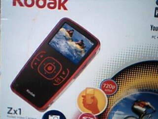 KODAK Camcorder ZX1