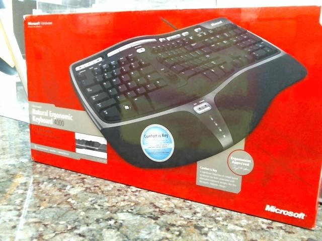 MICROSOFT Computer Accessories ERGONOMIC 4000