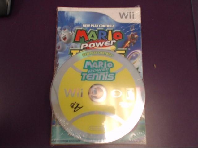 Mario Power Tennis - Nintendo Wii - Disc/Manual Only