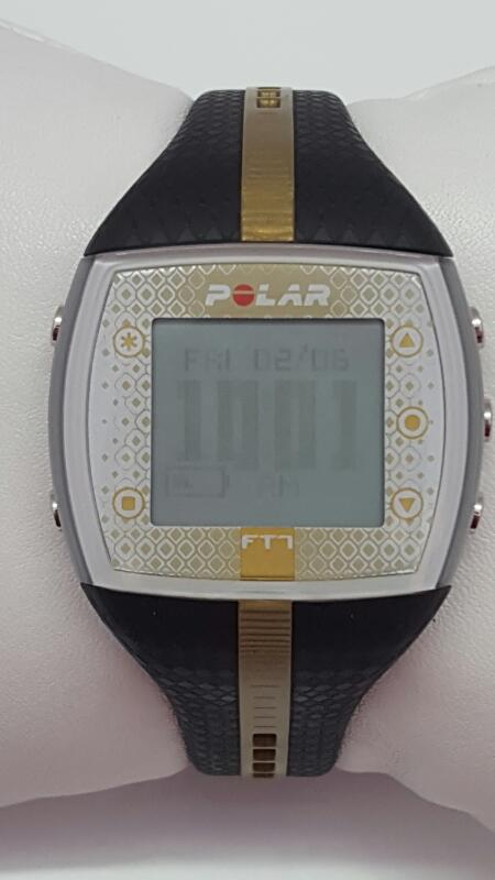 POLAR FT7 Heart Rate Monitor Black/Gold