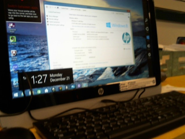 HEWLETT PACKARD PC Desktop 19-2114