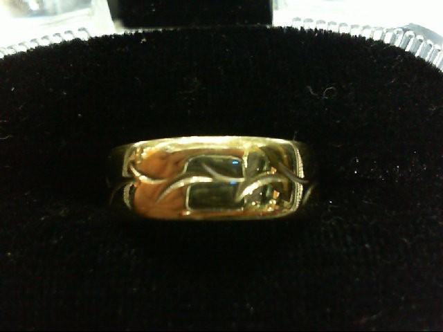 Lady's Gold Wedding Band 14K Yellow Gold 4g