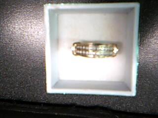 Lady's Diamond Solitaire Ring 22 Diamonds .22 Carat T.W. 10K Yellow Gold 3.19g