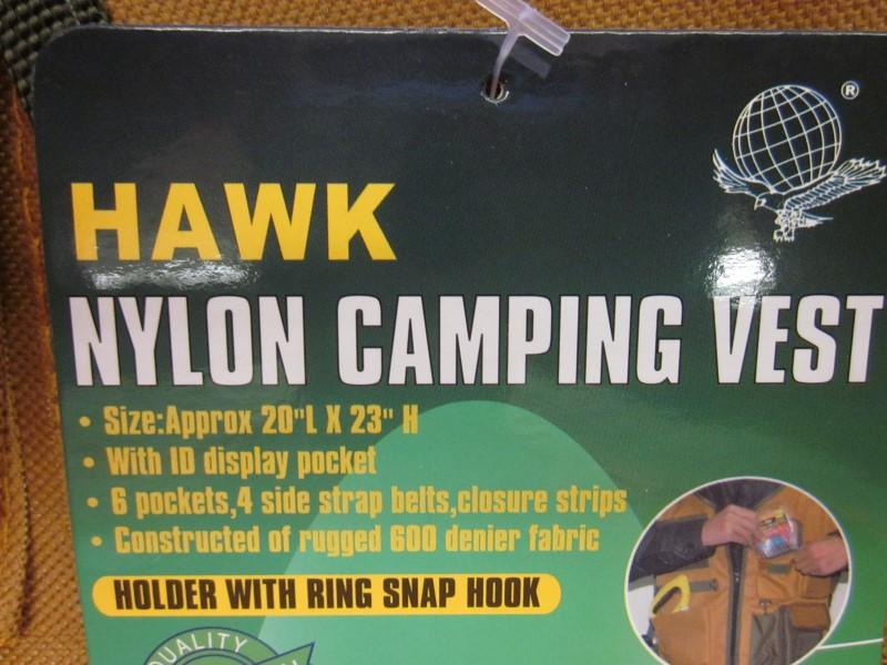 HAWK CAMPING/FISHING VEST