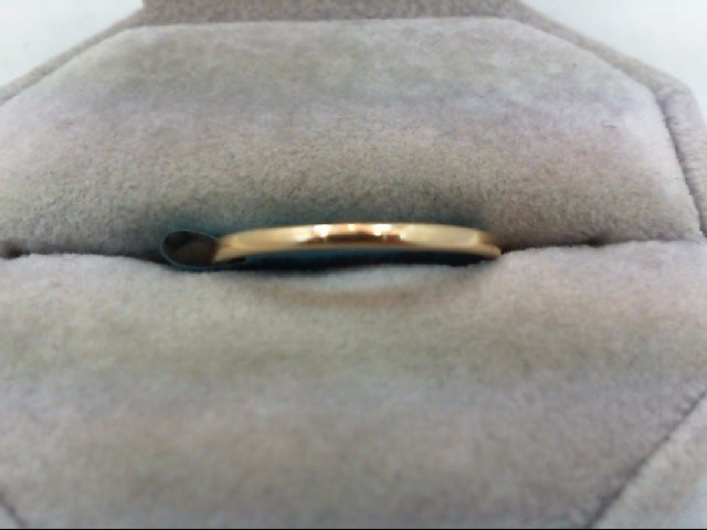 Gent's Gold Wedding Band 14K Yellow Gold 1.6g Size:10.5