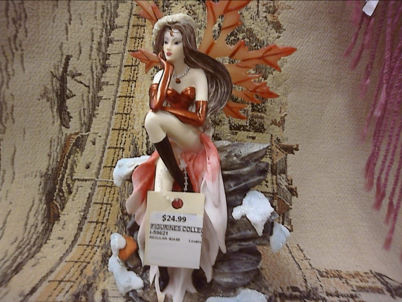 """FIGURINES COLLECTIBLES NEW MISC NEW MISC GEORGE S. CHEN 91740; FAIRY RD 8"""""""