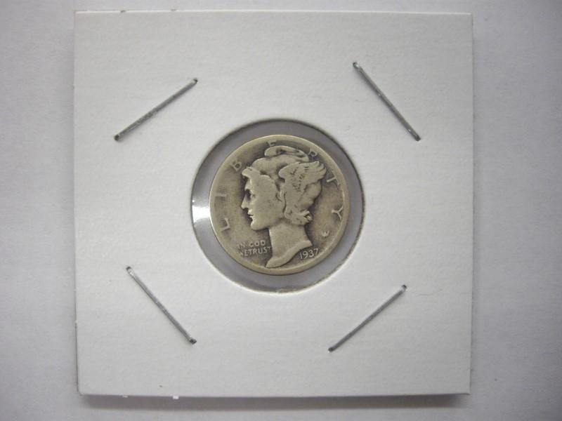 UNITED STATES Silver Coin MERCURY DIME (1916 - 1945)