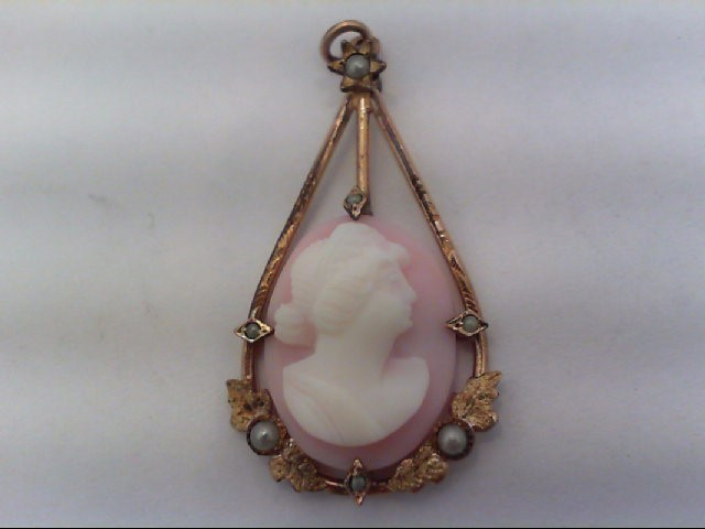 Cameo Antique Stainless 2.5g