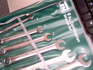 ALLEN 9PC SAE COMBINATION WRENCH SET 29013