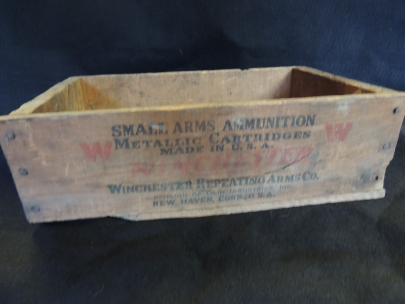 WINCHESTER CRATE .22 AMMO BOX
