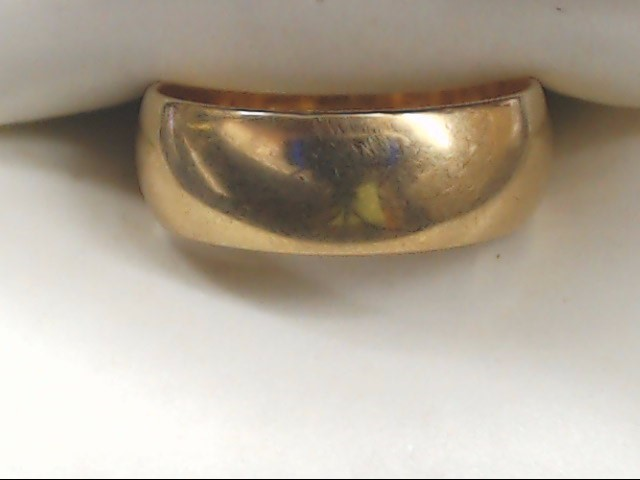 Lady's Gold Wedding Band 10K Yellow Gold 4.7g Size:6