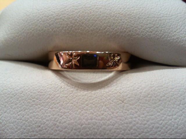 Lady's Gold Ring 18K Rose Gold 4.7g