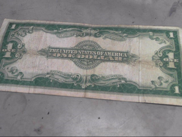 UNITED STATES Paper Money - World 1923 $1 SILVER CERTIFICATE