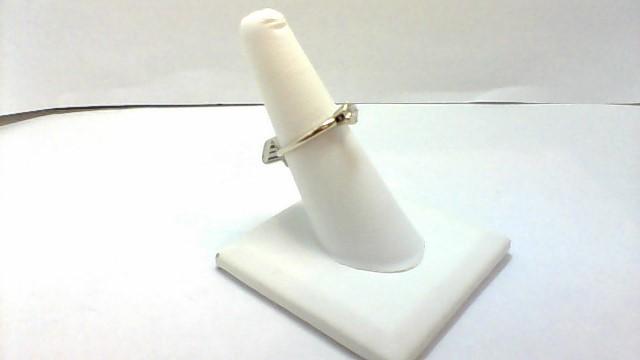 Lady's Diamond Engagement Ring .30 CT. 14K White Gold 2.1g