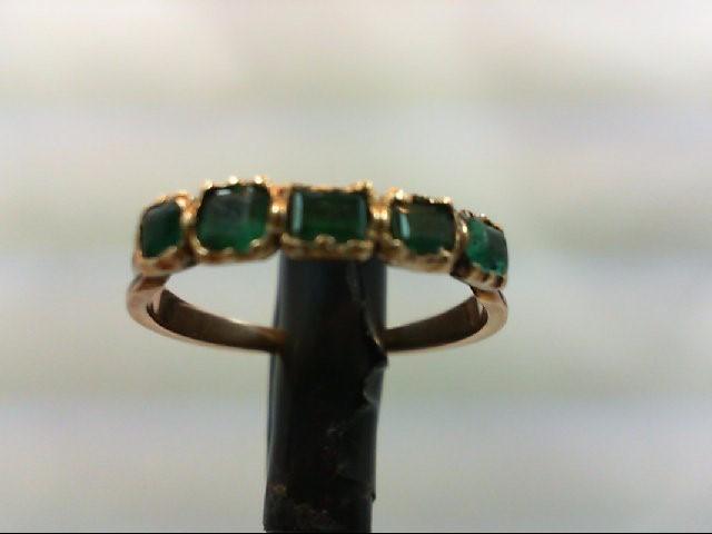 Lds 14k Emerald Band