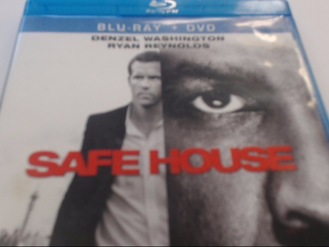 SAFE HOUSE - BLU-RAY MOVIE