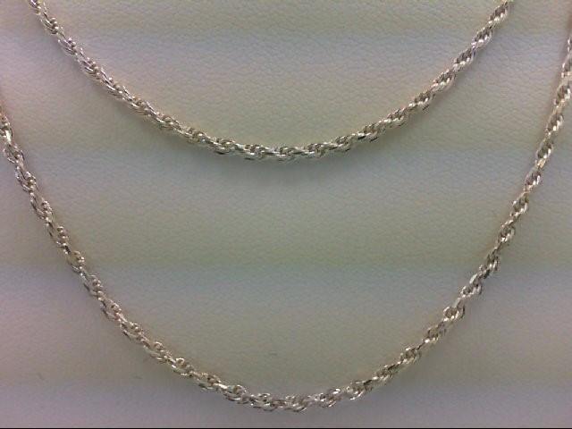"28"" Silver Chain 925 Silver 8.3g"