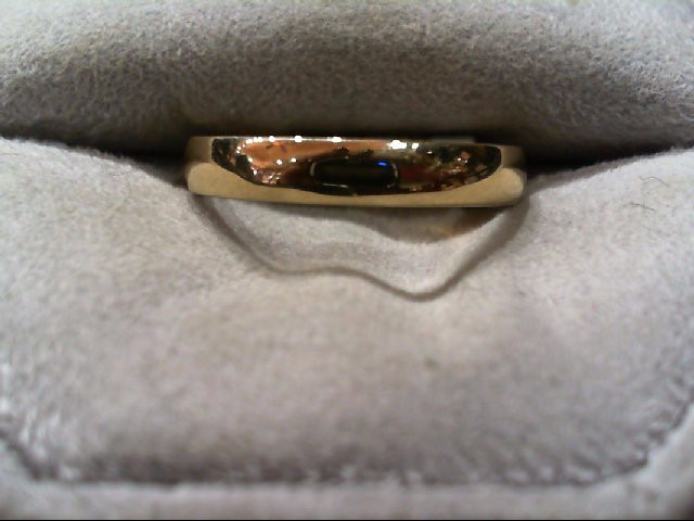 Lady's Gold Wedding Band 14K Yellow Gold 2.8g Size:7