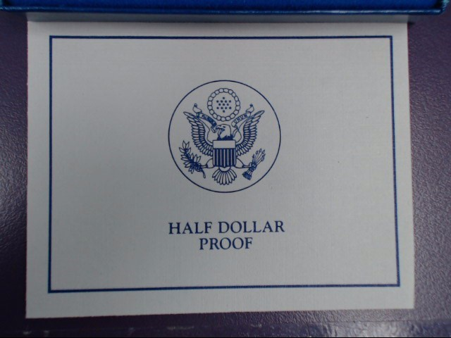 UNITED STATES PROOF LIBERTY COIN 1986 HALF DOLLER