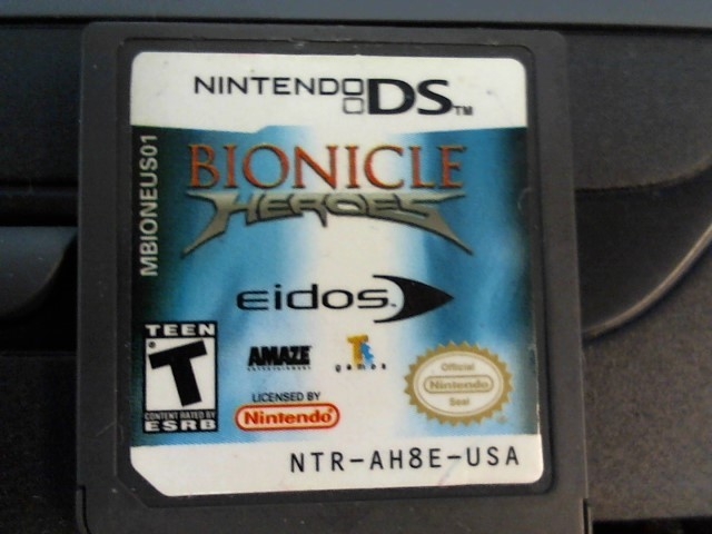 DS BIONICLE HEROES