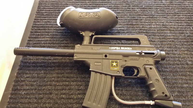 TIPPMANN Paintball ALPHA BLACK TACTICAL EDITION